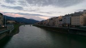 Salzburg in the evening