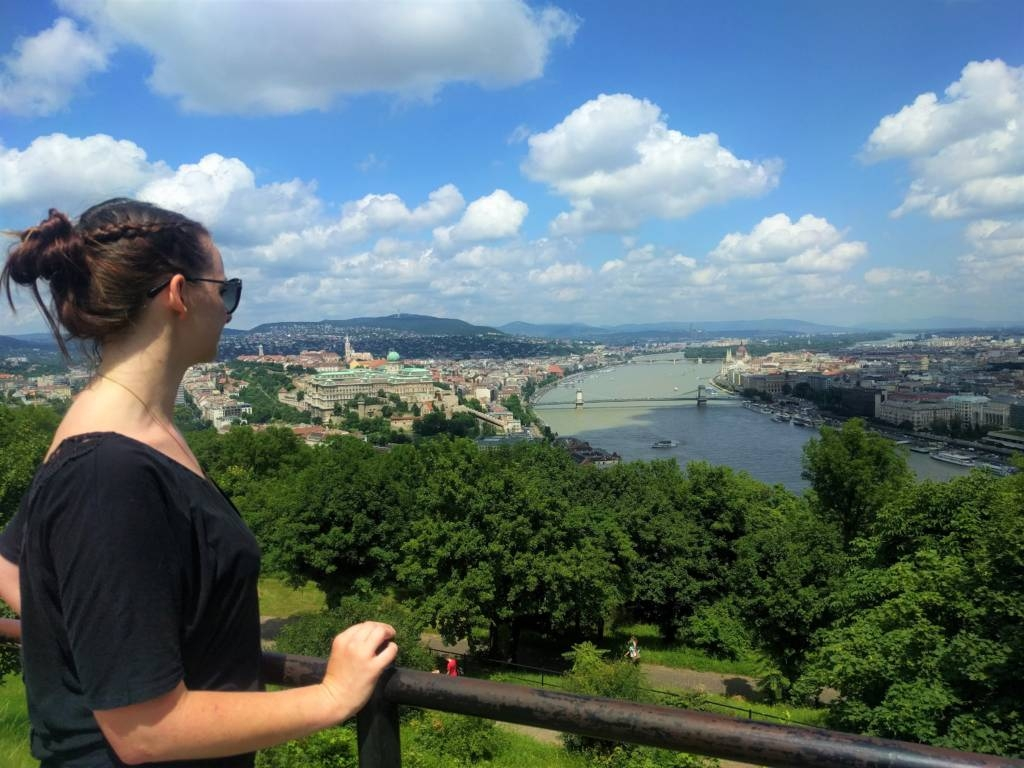 view from buda hill