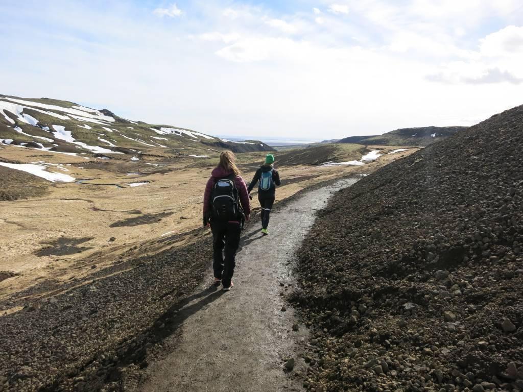 Reykjadalur mountain