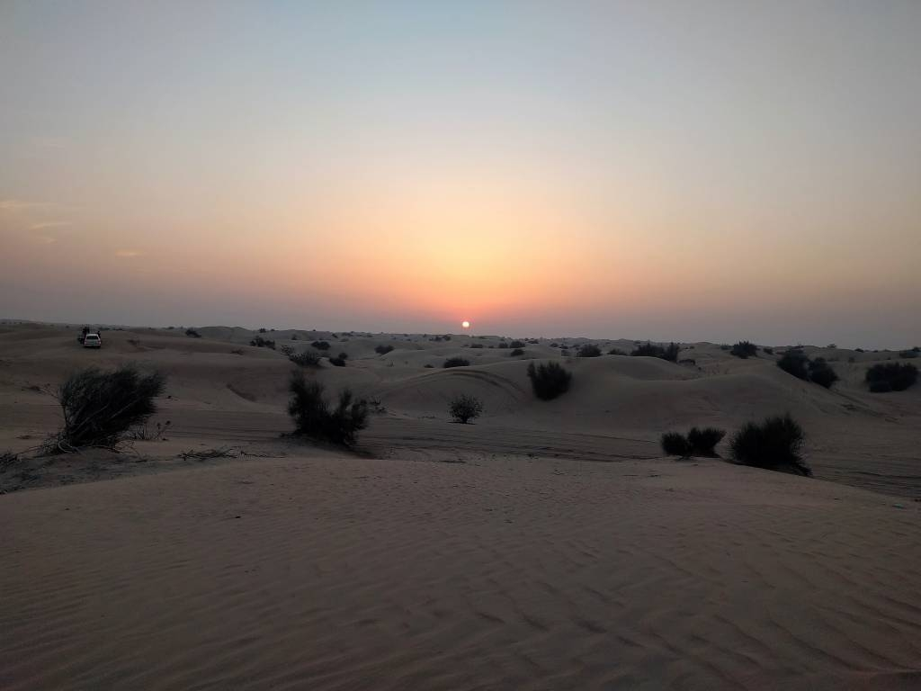 arabian desert sunset